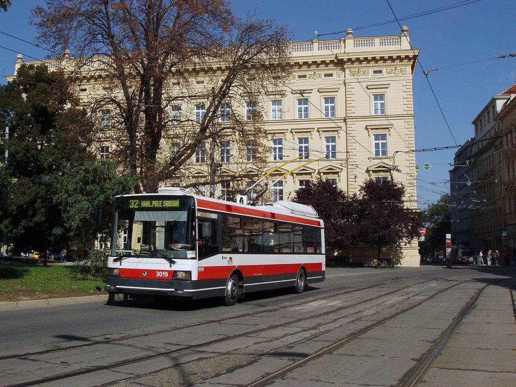 Fotogalerie » Škoda 21Tr 3019 | Brno | střed | Žerotinovo náměstí