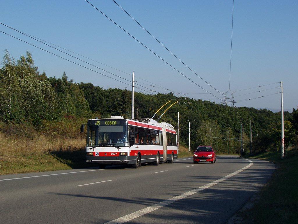 Fotogalerie » Škoda 22Tr 3607   Brno   Kohoutovice   Chironova