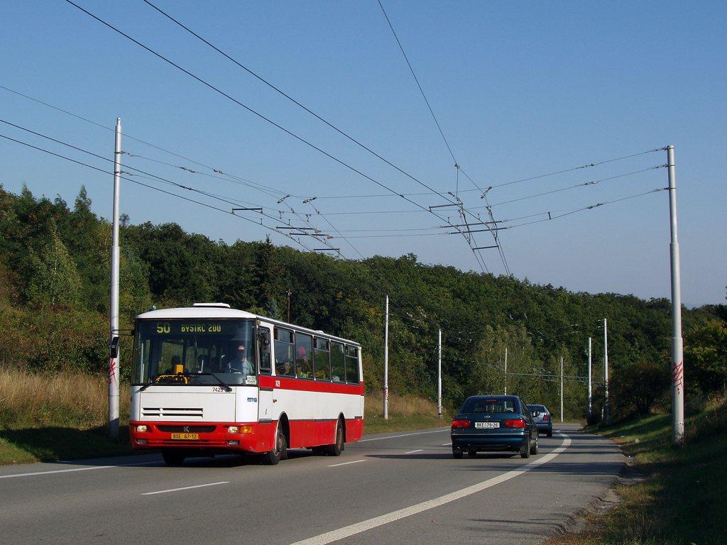 Fotogalerie » Karosa B931.1675 7429 | Brno | Kohoutovice | Chironova
