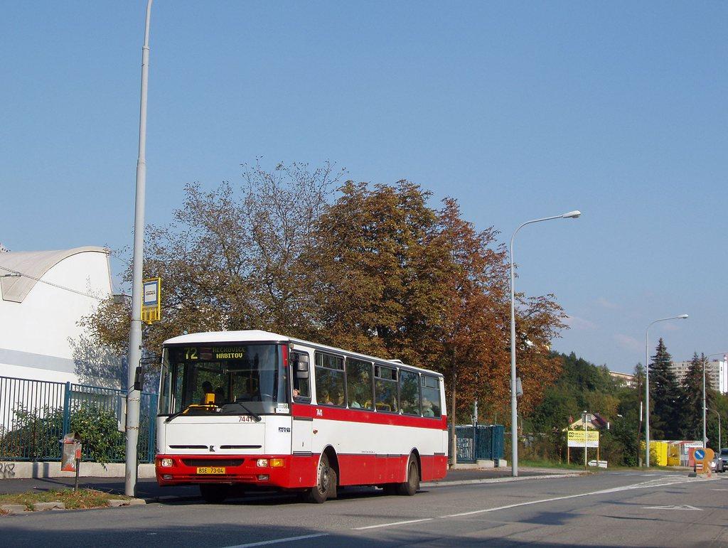 Fotogalerie » Karosa B931.1675 7441 | Brno | Královo Pole | Křižíkova | Divišova Čtvrť