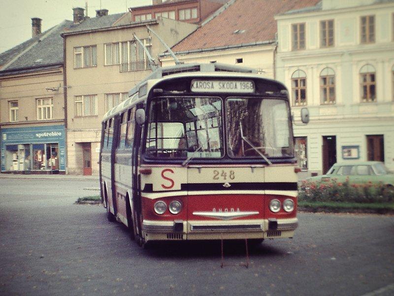 Fotogalerie » Škoda T11/0 248 | Vysoké Mýto