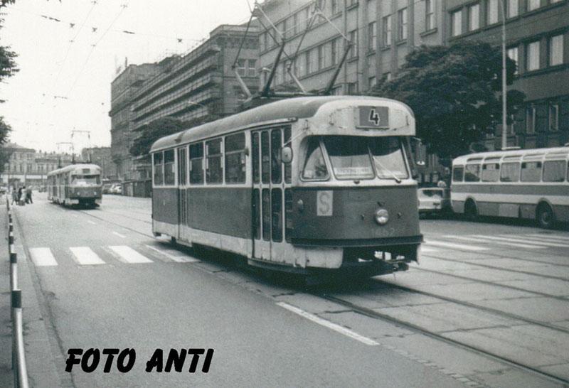 Fotogalerie » Tatra T2R 1462 | Brno | střed | Benešova