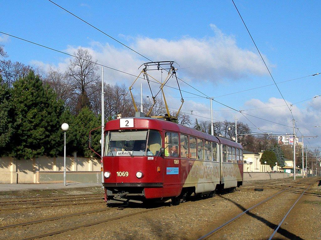 Fotogalerie » ČKD Tatra K2 1069 | Brno | Štýřice | Vídeňská