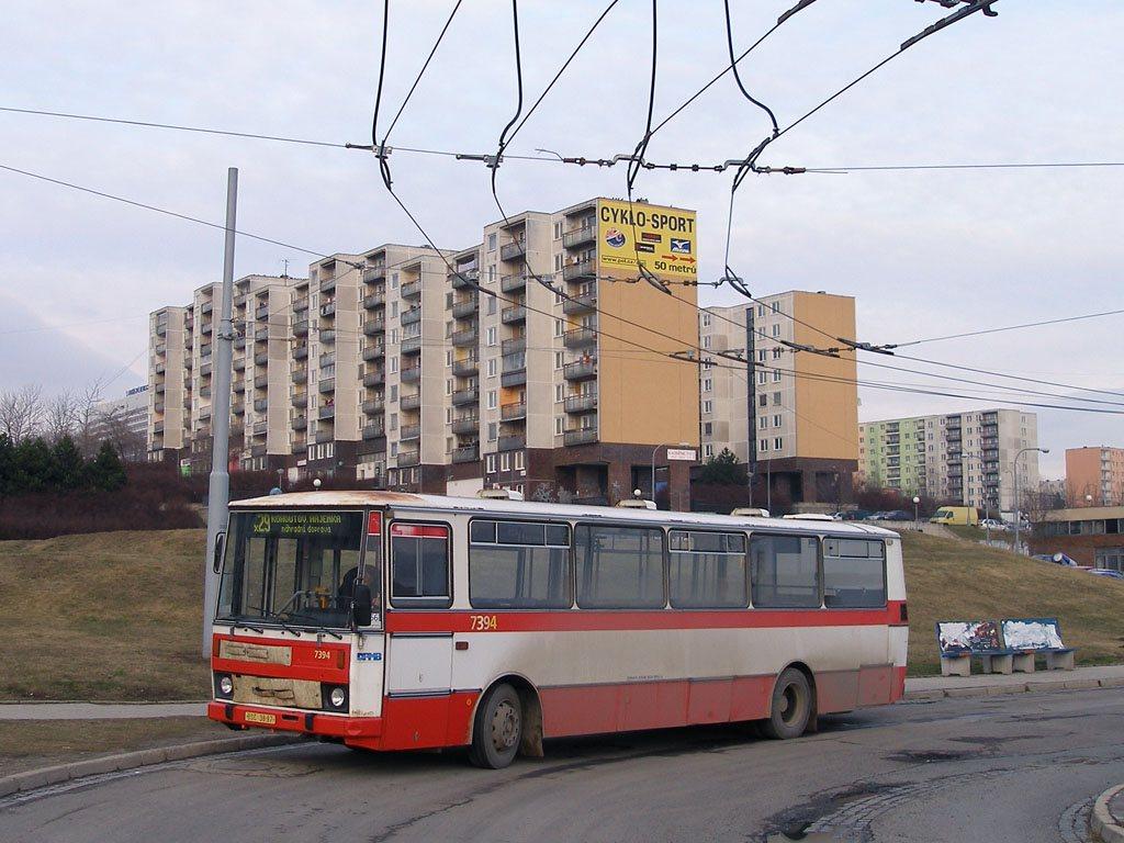 Fotogalerie » Karosa B732.1654.3 7394 | Brno | Starý Lískovec | Osová, smyčka