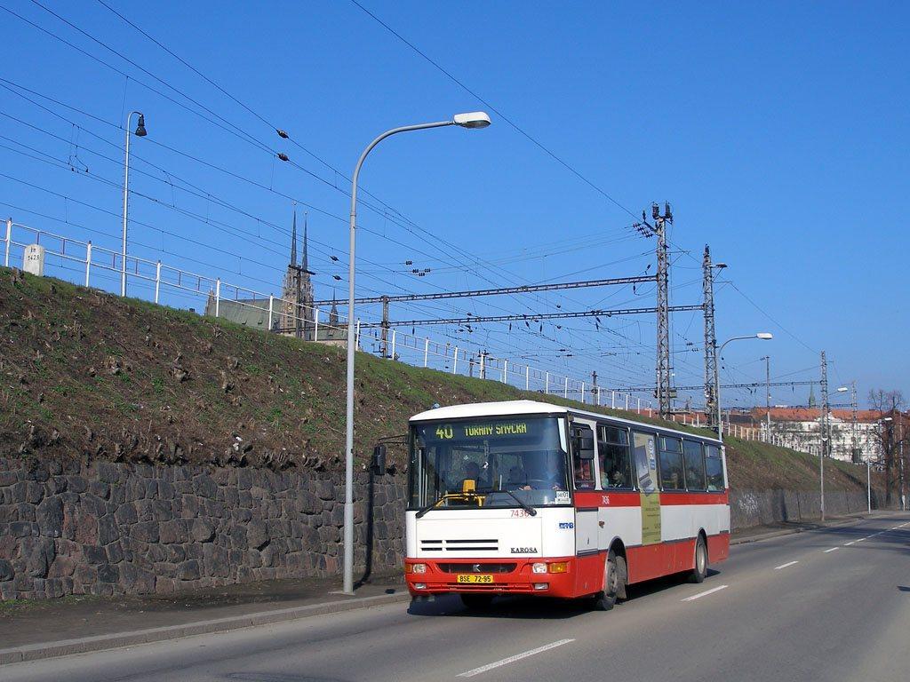 Fotogalerie » Karosa B931.1675 7436 | Brno | Trnitá | Uhelná