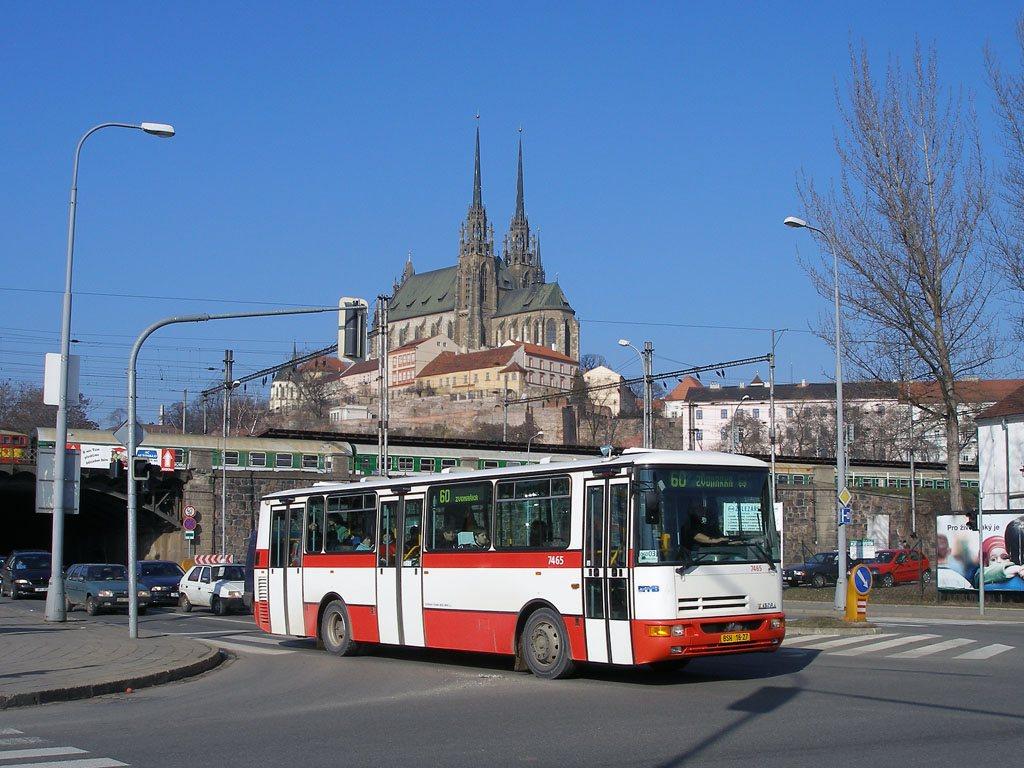 Fotogalerie » Karosa B931E.1707 7465 | Brno | Trnitá | Úzká