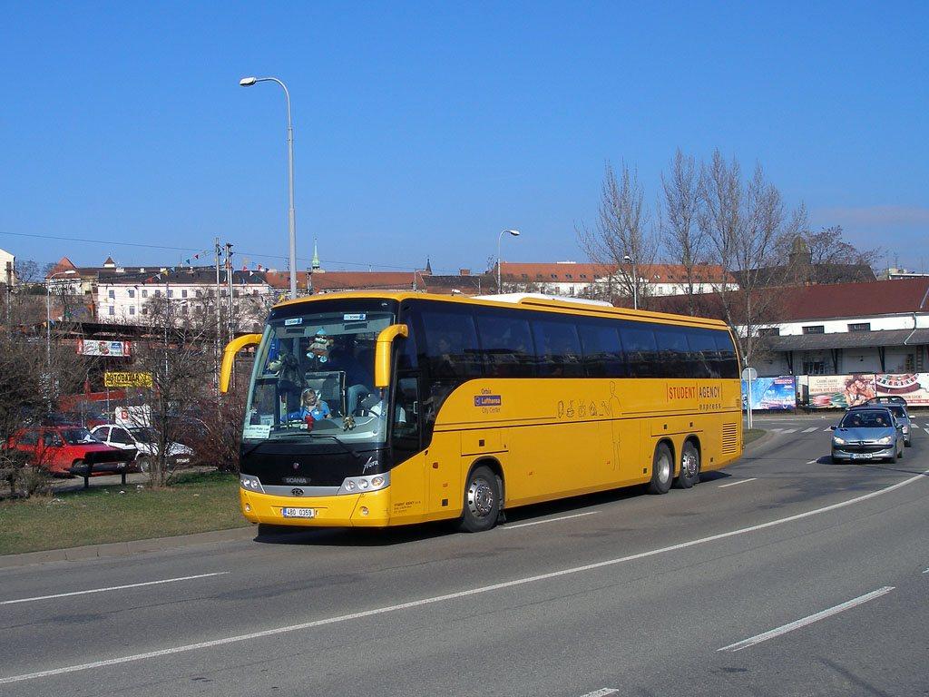 Fotogalerie » Scania Beulas Scania Beulas Aura 4B0 0359 | Brno | Trnitá | Uhelná