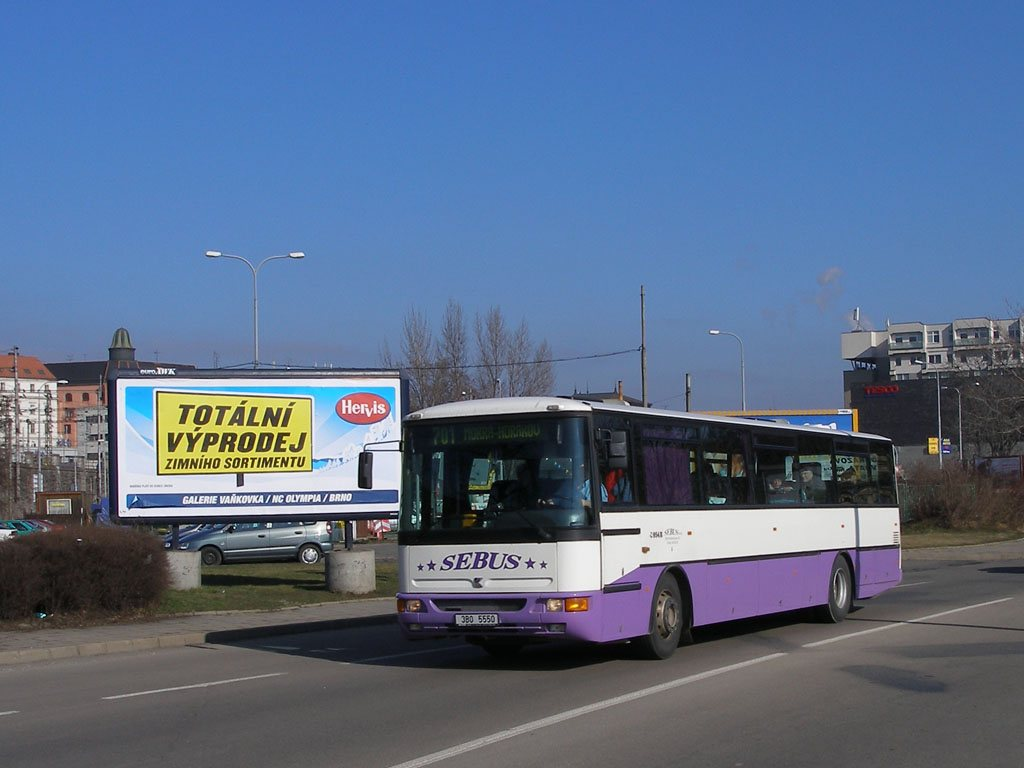 Fotogalerie » Karosa C954E.1360 3B0 5550 | Brno | Trnitá | Uhelná