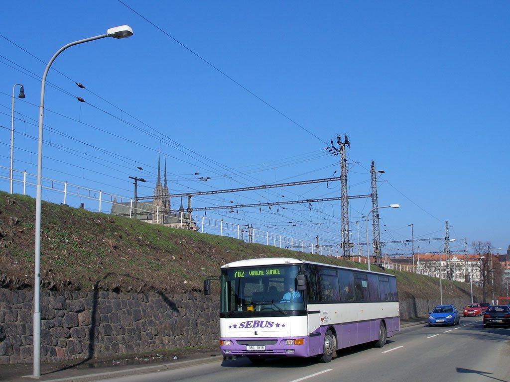 Fotogalerie » Karosa C954E.1360 3B0 1818 | Brno | Trnitá | Uhelná