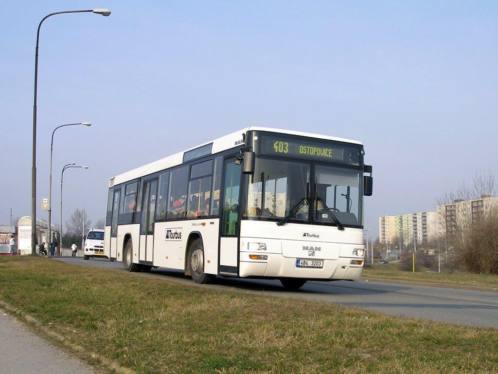 Fotogalerie » MAN MAN Lions City TÜ 4B4 3203   Brno   Starý Lískovec   Osová