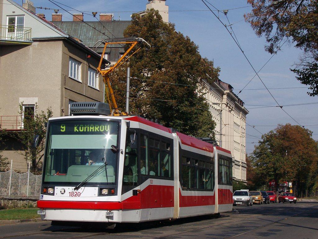 Fotogalerie » Škoda 03T7 1820 | Brno | Černá Pole | Lesnická