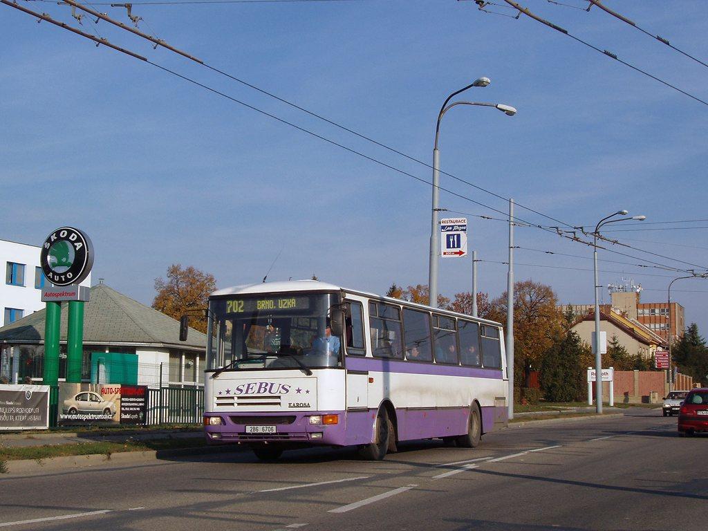 Fotogalerie » Karosa C934 2B6 6706   Brno   Slatina   Hviezdoslavova