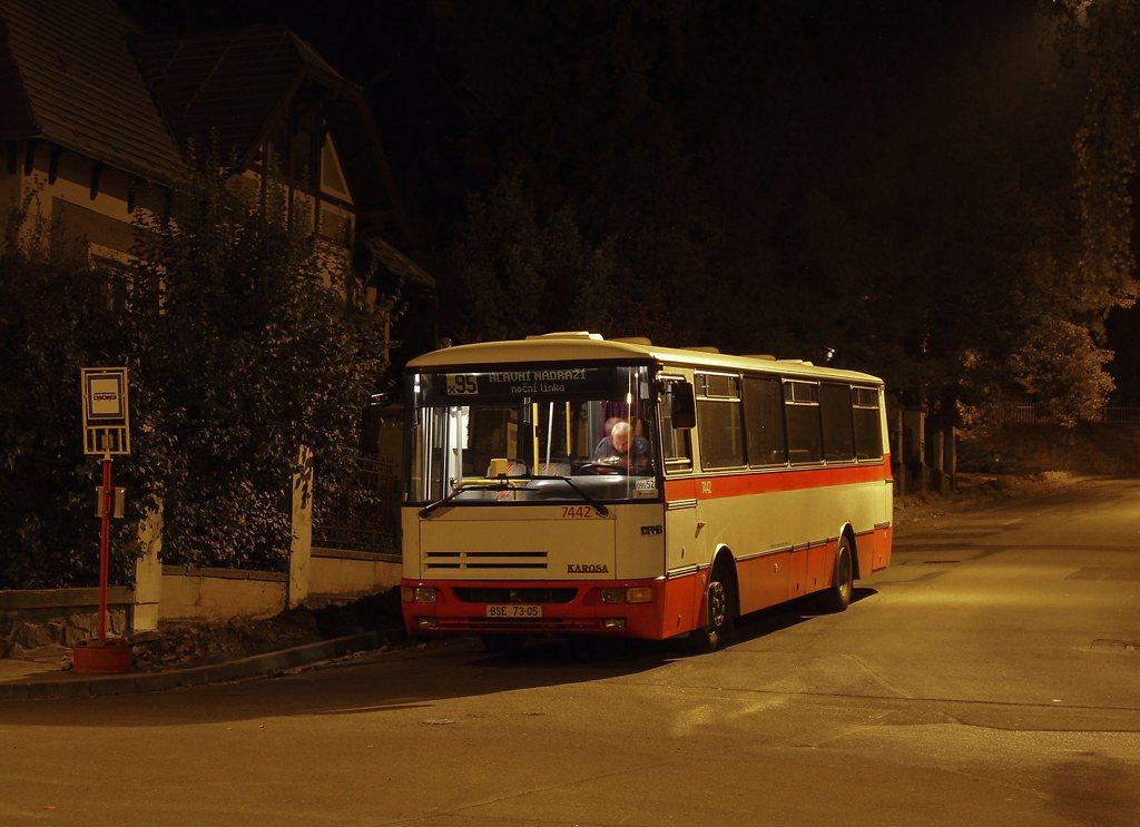 Fotogalerie » Karosa B931.1675 7442 | Brno | Pisárky | Hroznová | Pisárky
