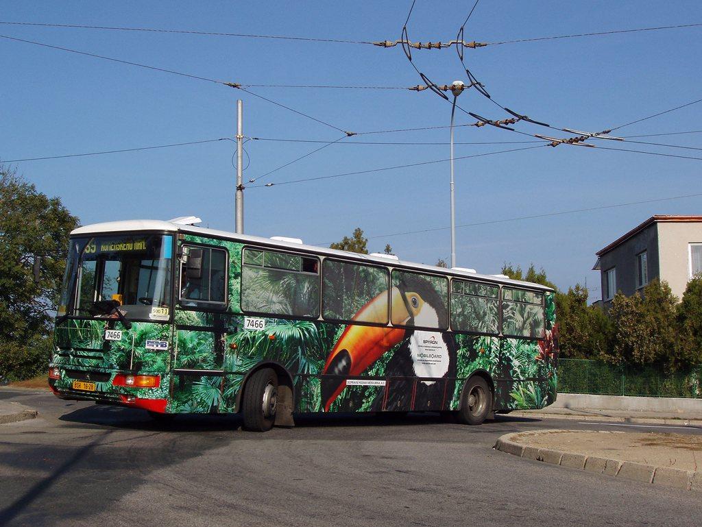Fotogalerie » Karosa B931E.1707 7466 | Brno | Masarykova Čtvrť | Barvičova | Barvičova