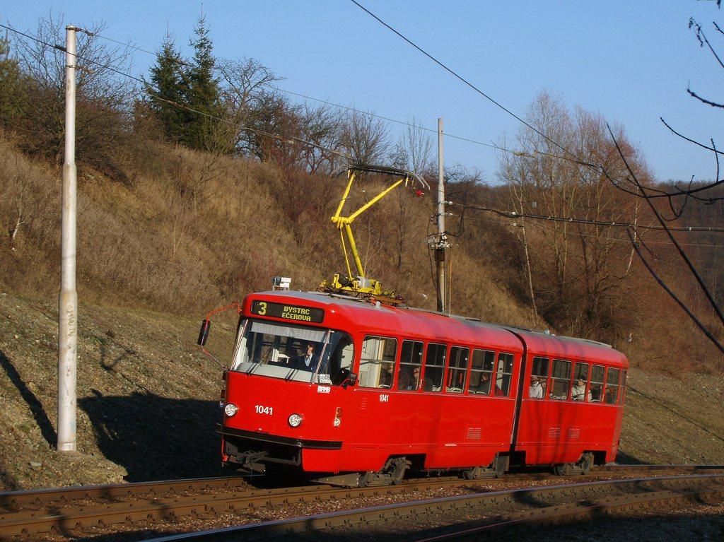 Fotogalerie » ČKD Tatra K2P 1041 | Brno | Bystrc