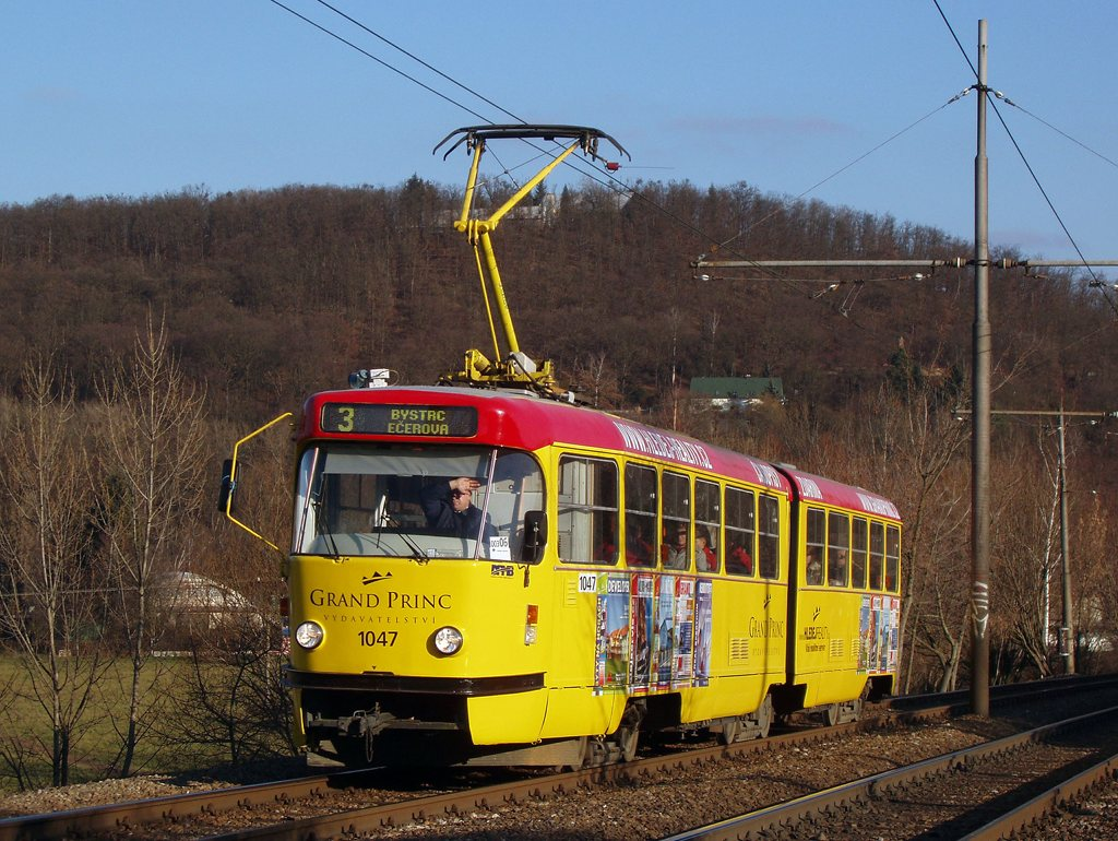 Fotogalerie » ČKD Tatra K2P 1047   Brno   Bystrc