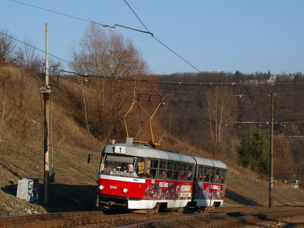 Fotogalerie » ČKD Tatra K2 1099 | Brno | Bystrc