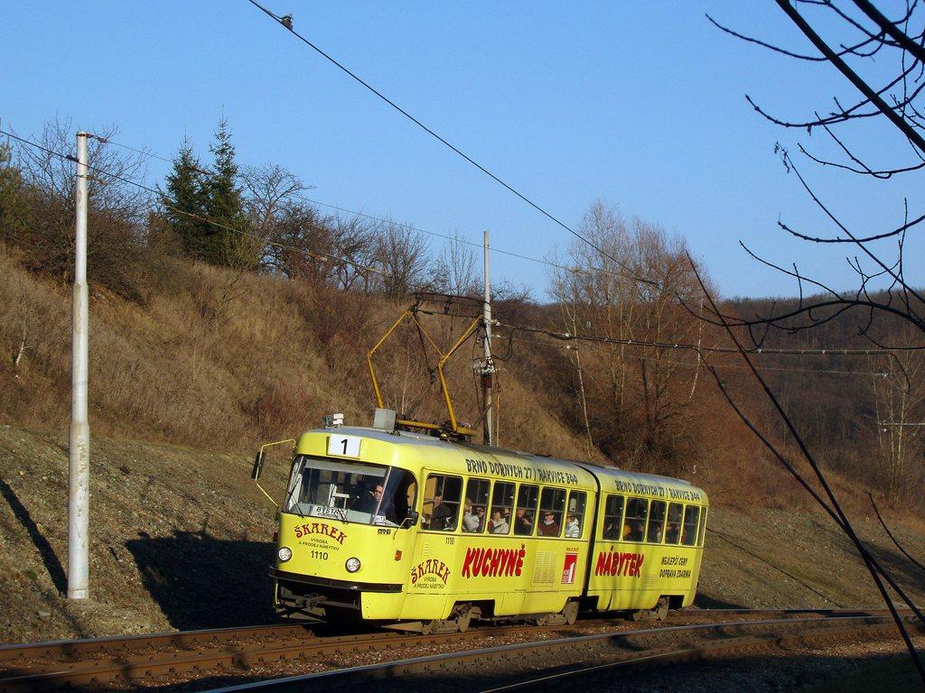 Fotogalerie » ČKD Tatra K2 1110 | Brno | Bystrc