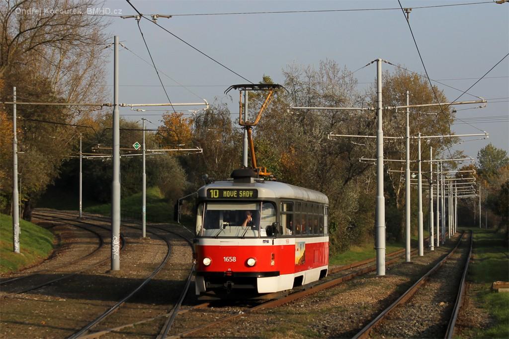 Fotogalerie » Pragoimex T3R.PV 1658 | Brno | Židenice | Ostravská