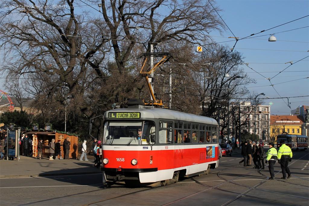 Fotogalerie » Pragoimex T3R.PV 1658 | Brno | střed | Moravské náměstí