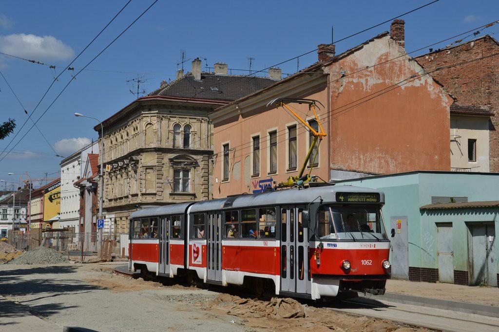 Fotogalerie » ČKD Tatra K2P 1062 | Brno | Husovice | Vranovská