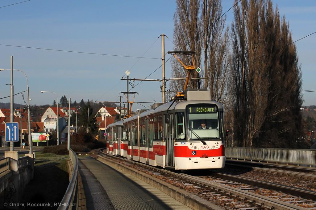 Fotogalerie » Pragoimex VarioLF2R.E 1078 | Pragoimex VarioLFR.E 1551 | Brno | Bystrc | Kníničská