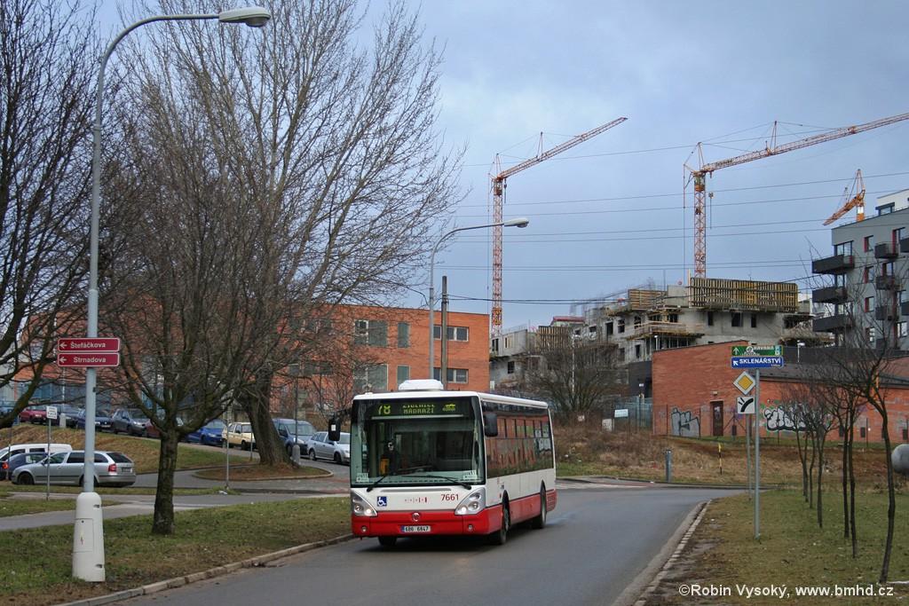 Fotogalerie » Irisbus Citelis 12M 6B6 6847 7661 | Brno | Líšeň | Sedláčkova