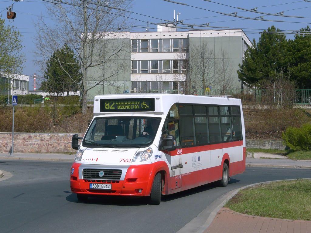 Fotogalerie » MAVE-Fiat CiBus ENA MAXI 6B8 8647 7502 | Brno | Vinohrady | Pálavské náměstí