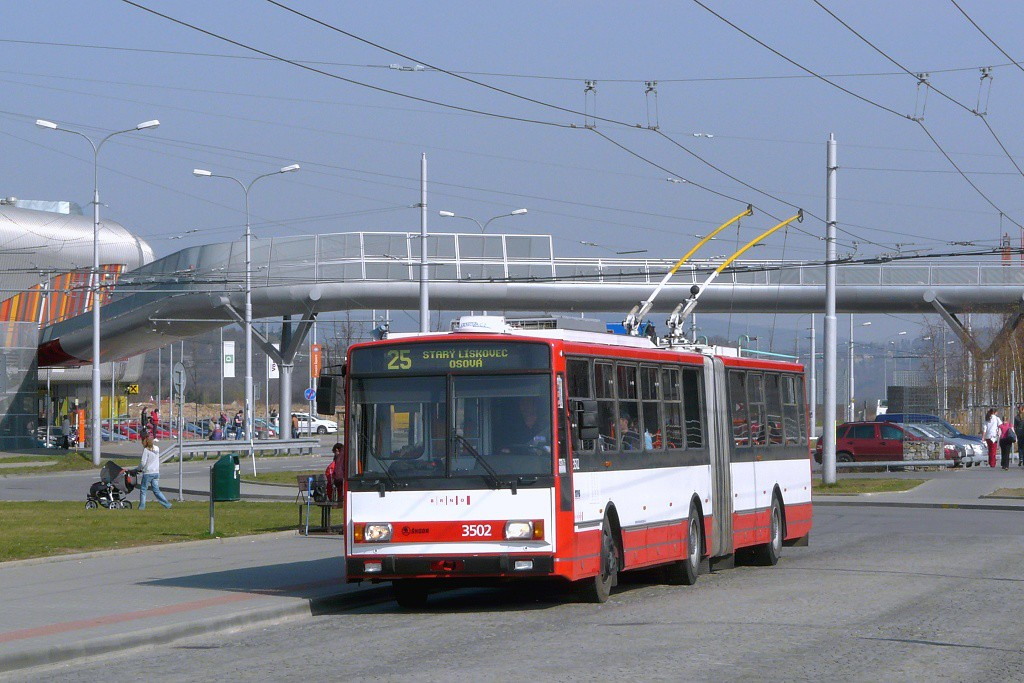 Fotogalerie » Škoda 15TrM 3502 | Brno | Bohunice | Netroufalky | Nemocnice Bohunice