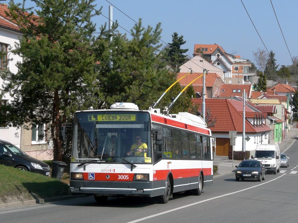 Fotogalerie » Škoda 21Tr 3005 | Brno | Nový Lískovec | Rybnická