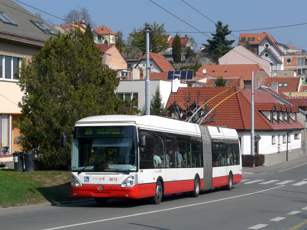 Fotogalerie » Škoda 25Tr Citelis 1B 3613 | Brno | Nový Lískovec | Rybnická
