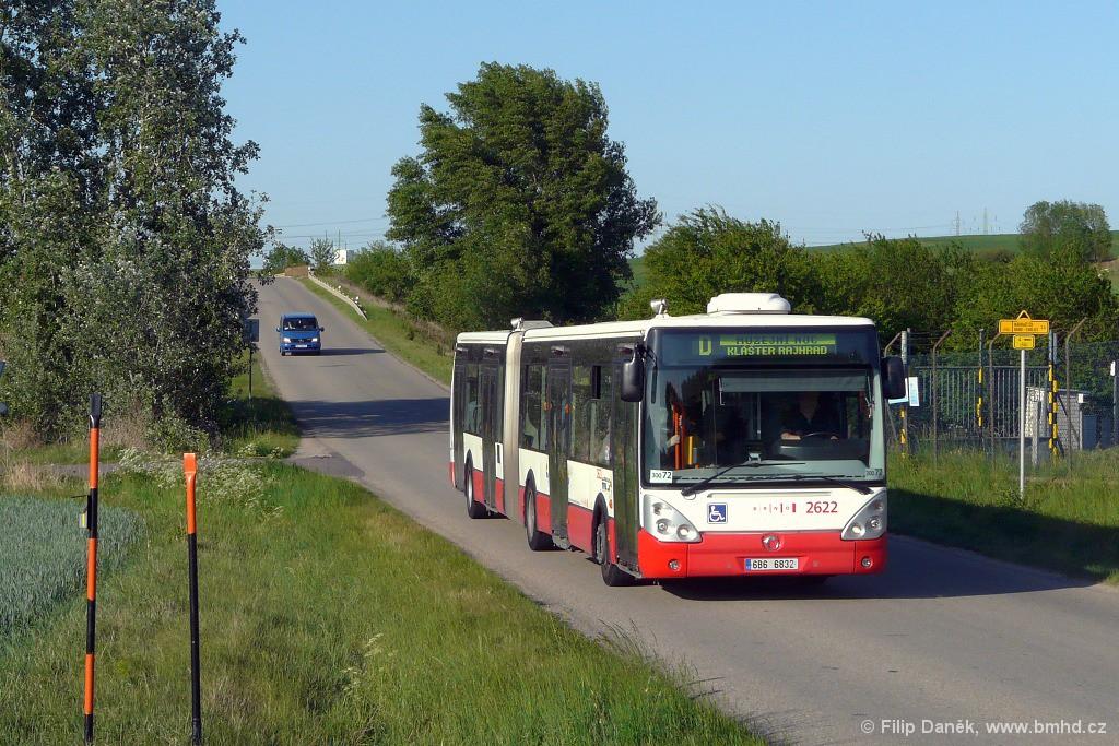 Fotogalerie » Irisbus Citelis 18M 6B6 6832 2622 | Rebešovice | úsek Chrlice - Rebešovice