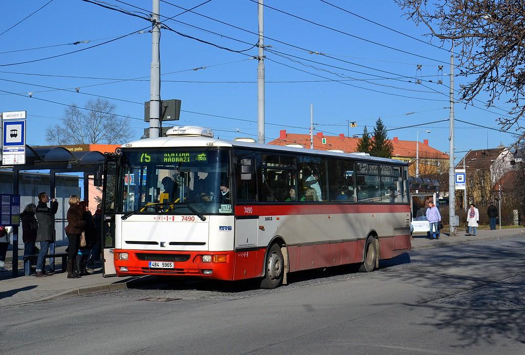 Fotogalerie » Karosa B951E.1713 4B4 5965 7490 | Brno | Židenice | Stará Osada
