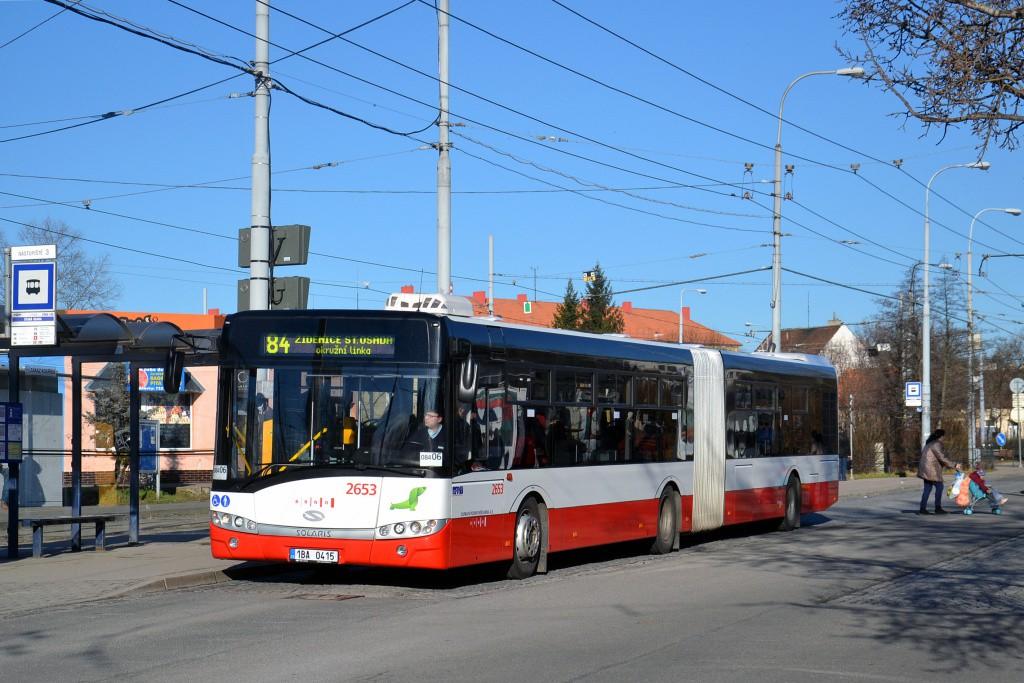 Fotogalerie » Solaris Urbino 18 III 1BA 0415 2653 | Brno | Židenice | Stará Osada