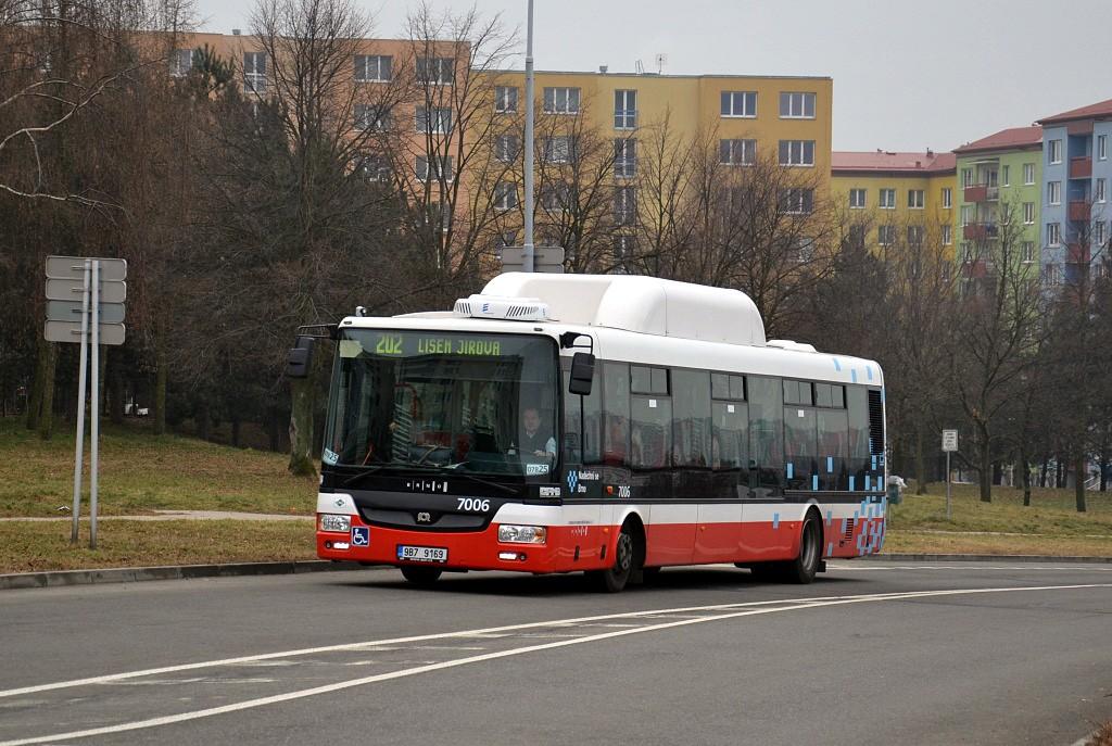 Fotogalerie » SOR NBG 12 9B7 9169 7006 | Brno | Líšeň | Podruhova
