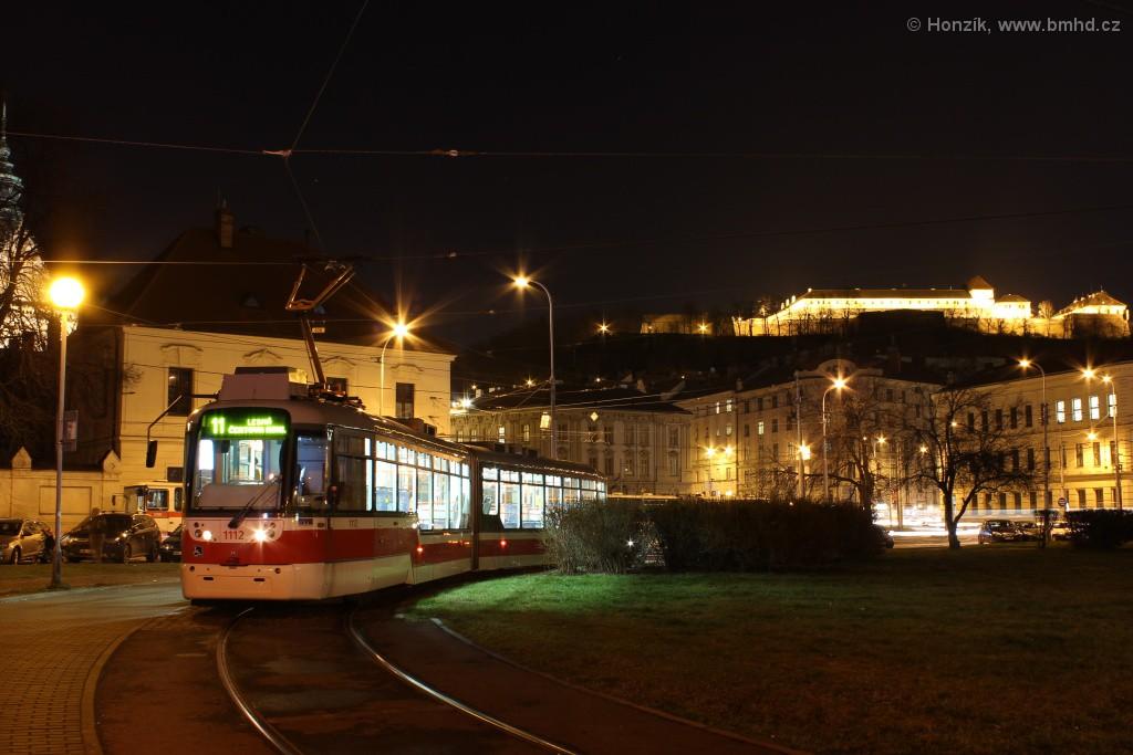 Fotogalerie » Pragoimex VarioLF2R.E 1112 | Brno | Staré Brno | Mendlovo náměstí | Mendlovo náměstí, smyčka