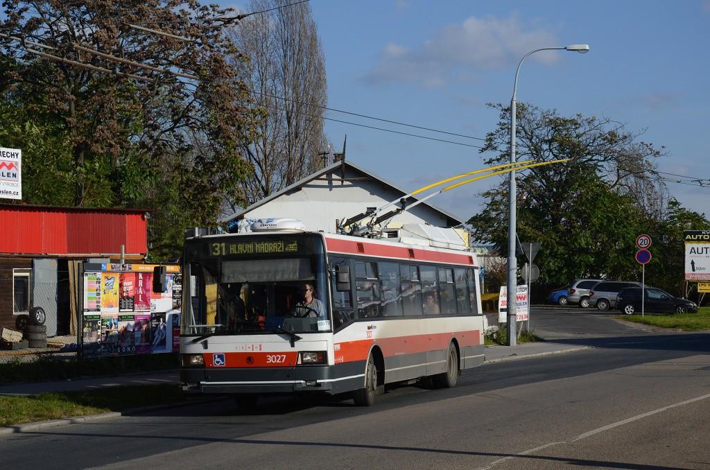Fotogalerie » Škoda 21Tr 3027 | Brno | Židenice | Olomoucká | Životského