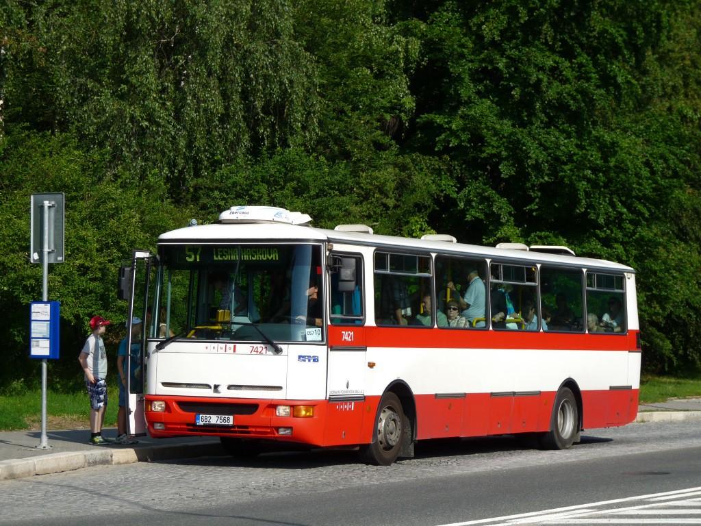 Fotogalerie » Karosa B931.1675 6B2 7568 7421 | Brno | Lesná | Okružní | Slavíčkova