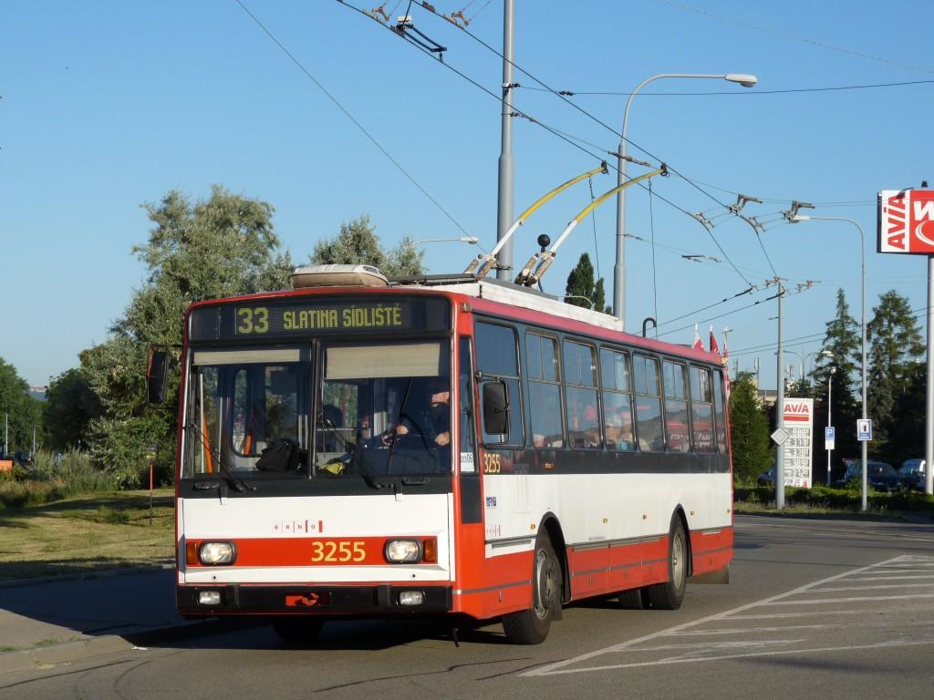 Fotogalerie » Škoda 14TrR 3255 | Brno | Slatina | Tilhonova