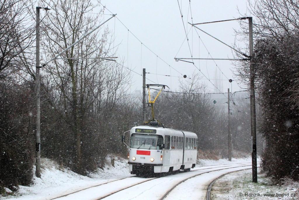 Fotogalerie » ČKD Tatra K2P 1118 | Brno | Ostravská