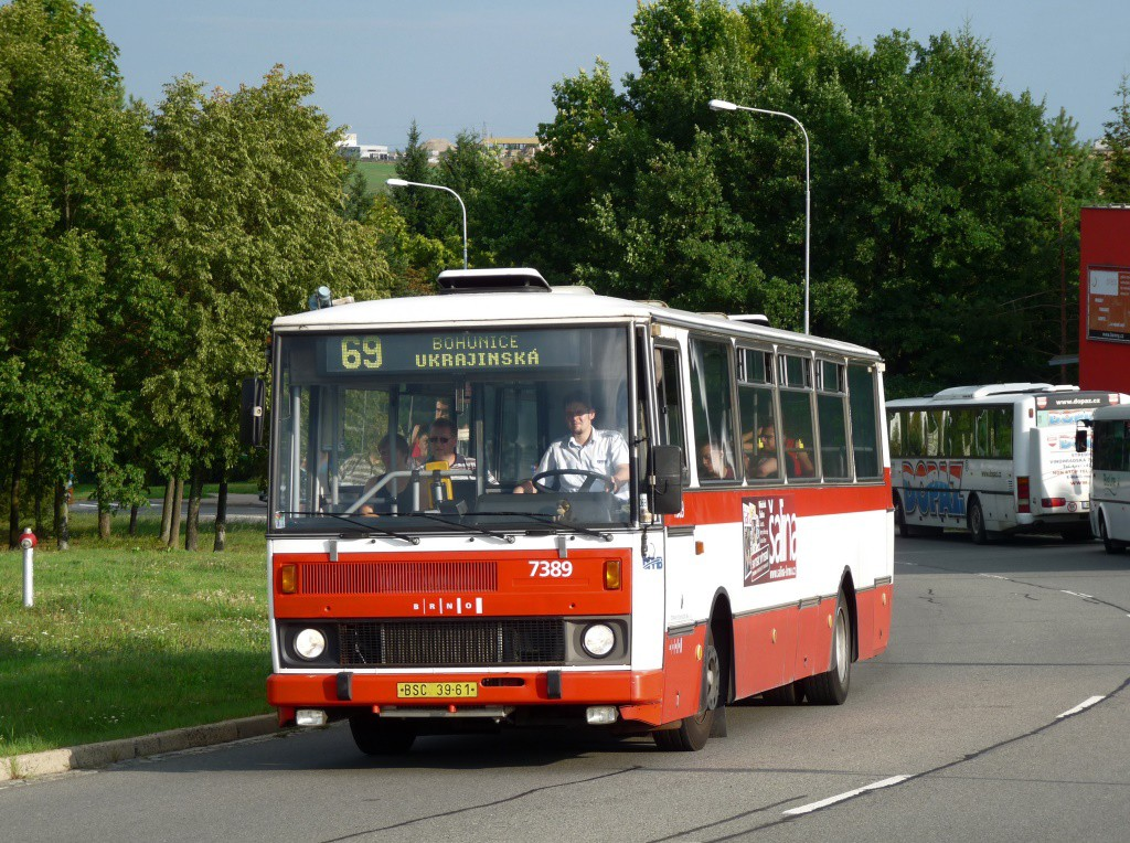 Fotogalerie » Karosa B732.1654.3 BSC 39-61 7389 | Brno | Bohunice | Osová