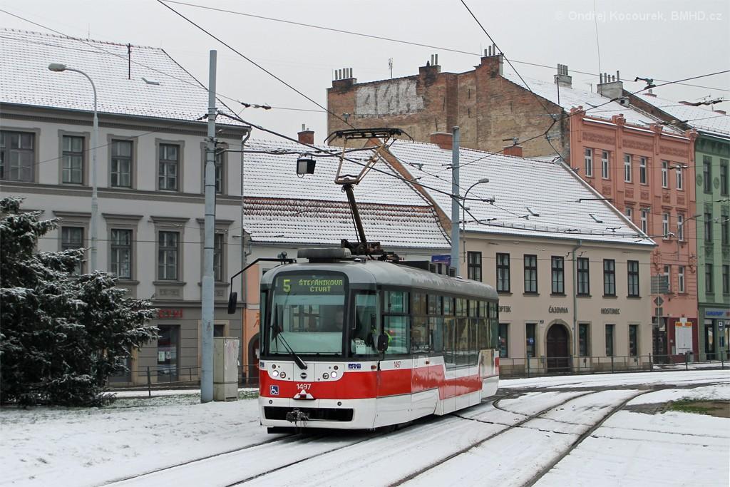 Fotogalerie » Pragoimex VarioLFR.E 1497 | Brno | Staré Brno | Mendlovo náměstí