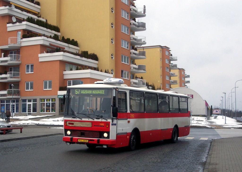 Fotogalerie » Karosa B732.1654.3 BSC 38-95 7392 | Brno | Lesná | Okružní | Haškova