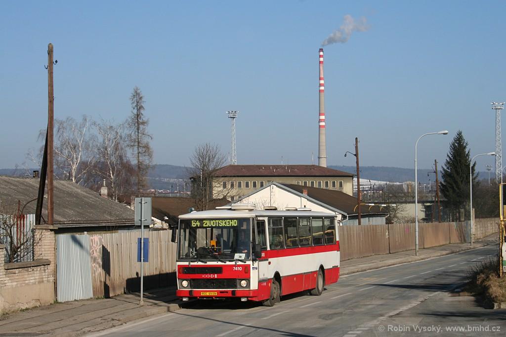 Fotogalerie » Karosa B731.1669 BSC 69-08 7410 | Brno | Židenice | Kulkova | Podsednická