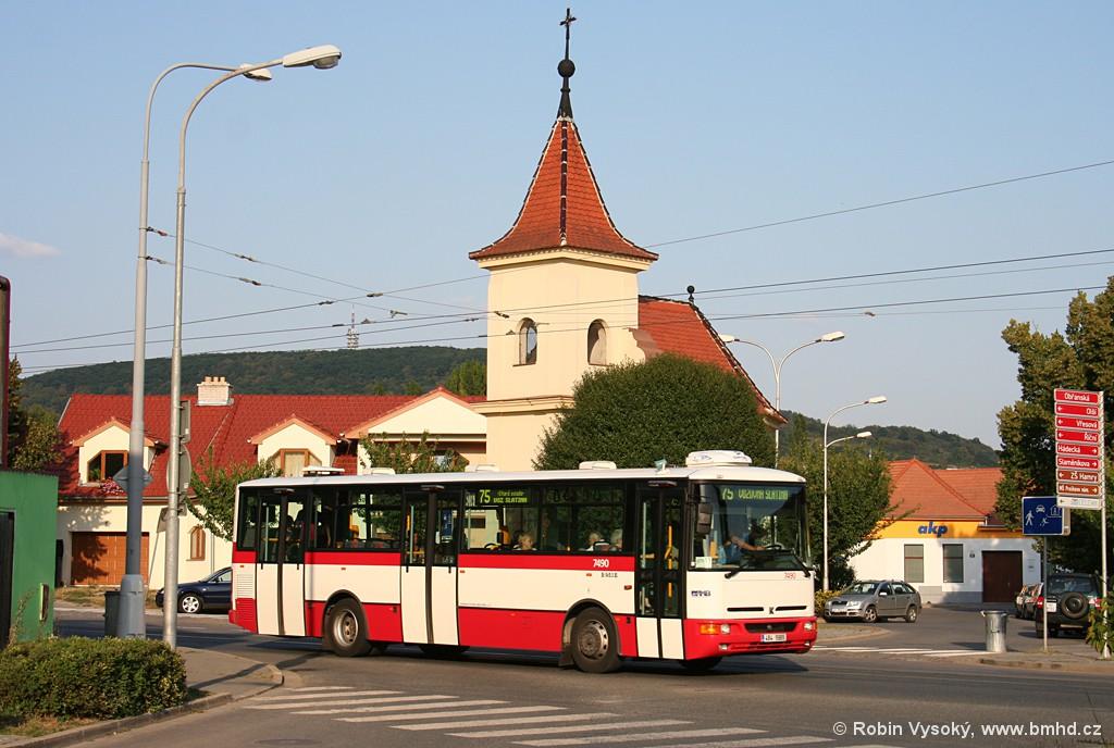 Fotogalerie » Karosa B951E.1713 4B4 5965 7490 | Brno | Maloměřice | Obřanská