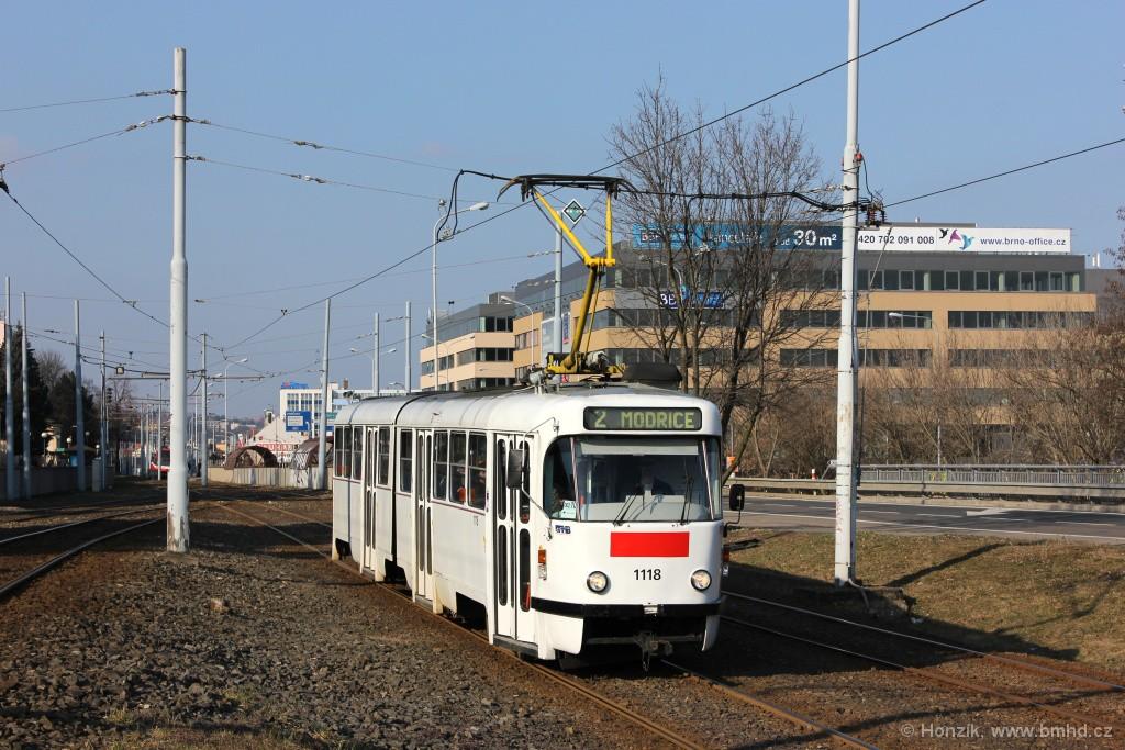 Fotogalerie » ČKD Tatra K2P 1118 | Brno | Štýřice | Vídeňská