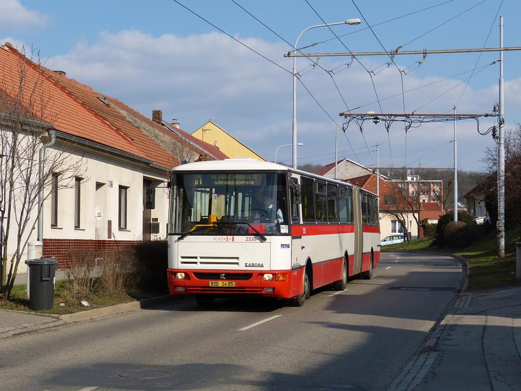 Fotogalerie » Karosa B941.1930 BSD 24-65 2335 | Brno | Komín | Branka