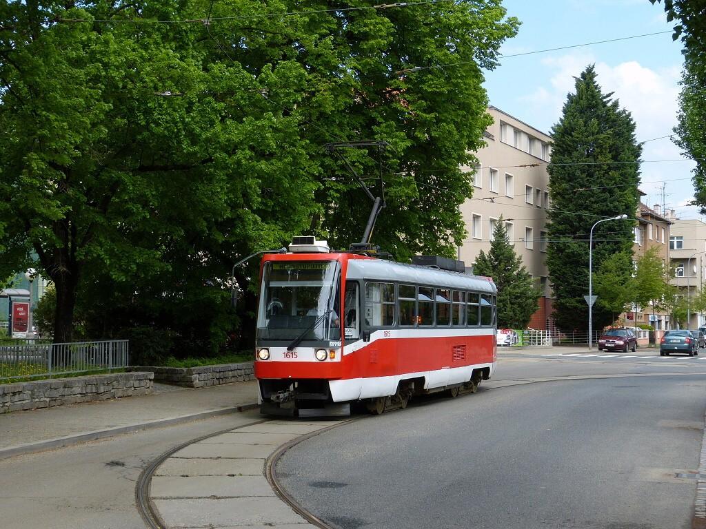 Fotogalerie » ČKD Tatra T3R 1615   Brno   Černá Pole   Zemědělská