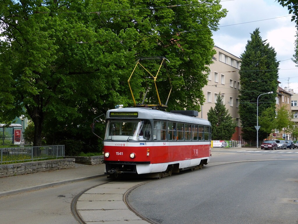 Fotogalerie » ČKD Tatra T3M 1541   Brno   Černá Pole   Zemědělská