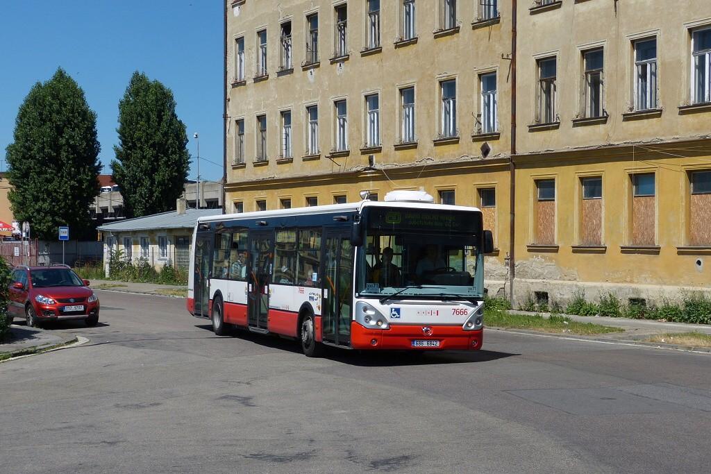 Fotogalerie » Irisbus Citelis 12M 6B6 6842 7666 | Brno | Střed | Rosická
